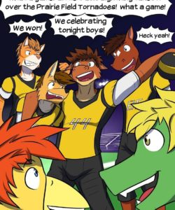 Pass Interference 002 and Gay furries comics