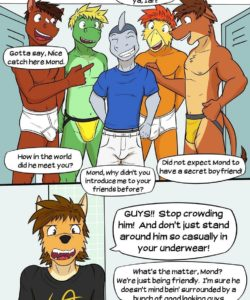 Pass Interference 007 and Gay furries comics