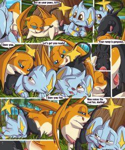 Patamon And Lightsoul gay furry comic