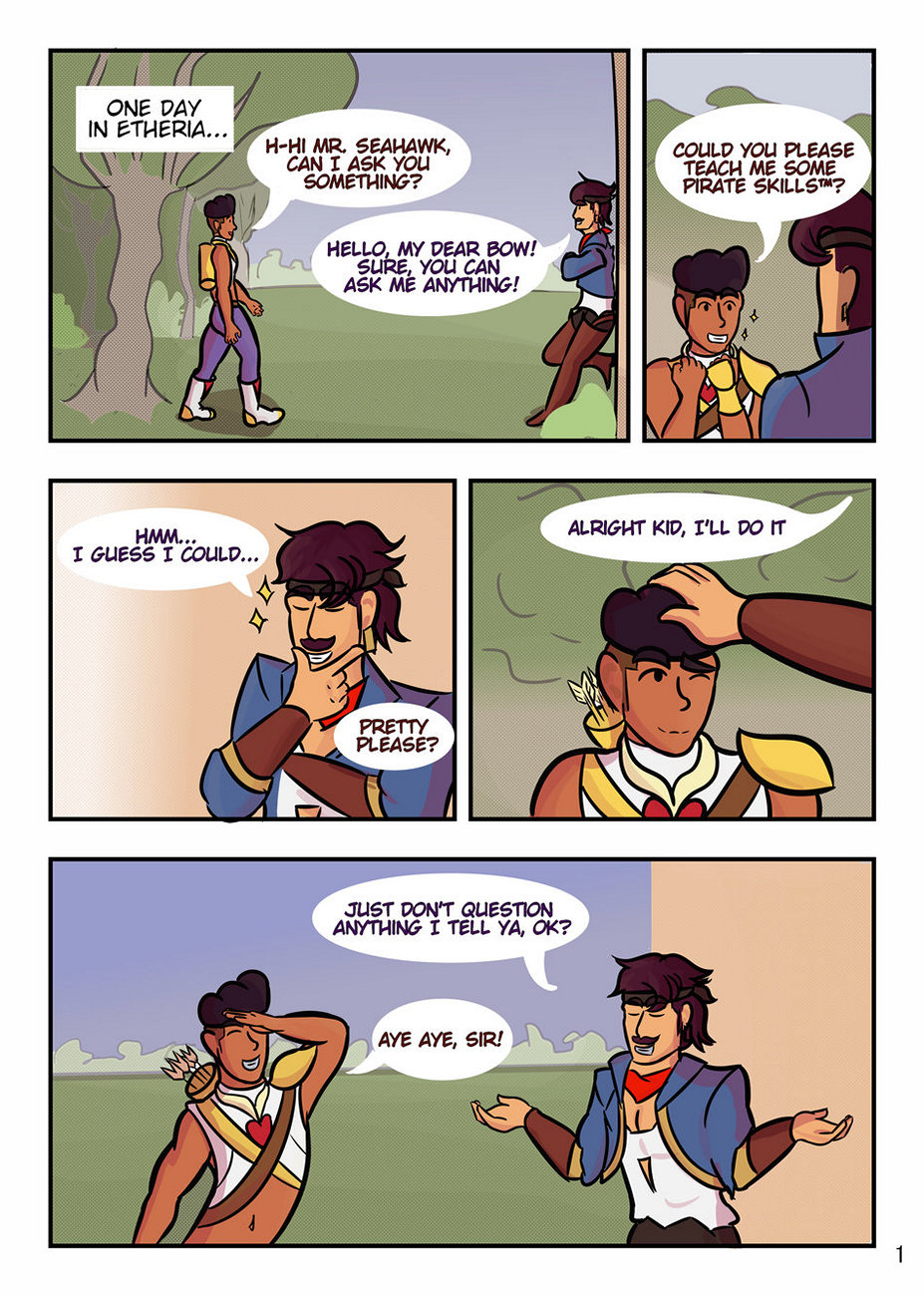 Pirate Skills gay furry comic
