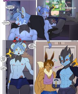 Pokemon Confessions 024 and Gay furries comics