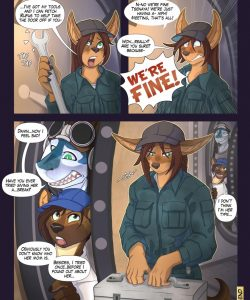 Pride In Your Work gay furry comic