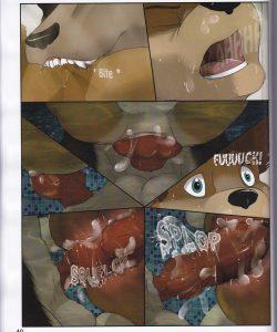 Quick Dip 041 and Gay furries comics