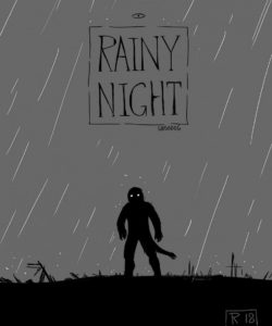 Rainy Night gay furry comic