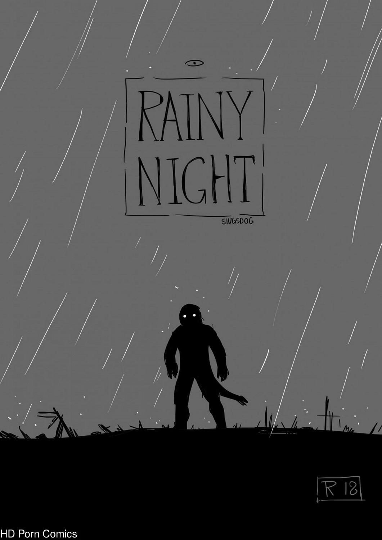 Rainy Night gay furry comic