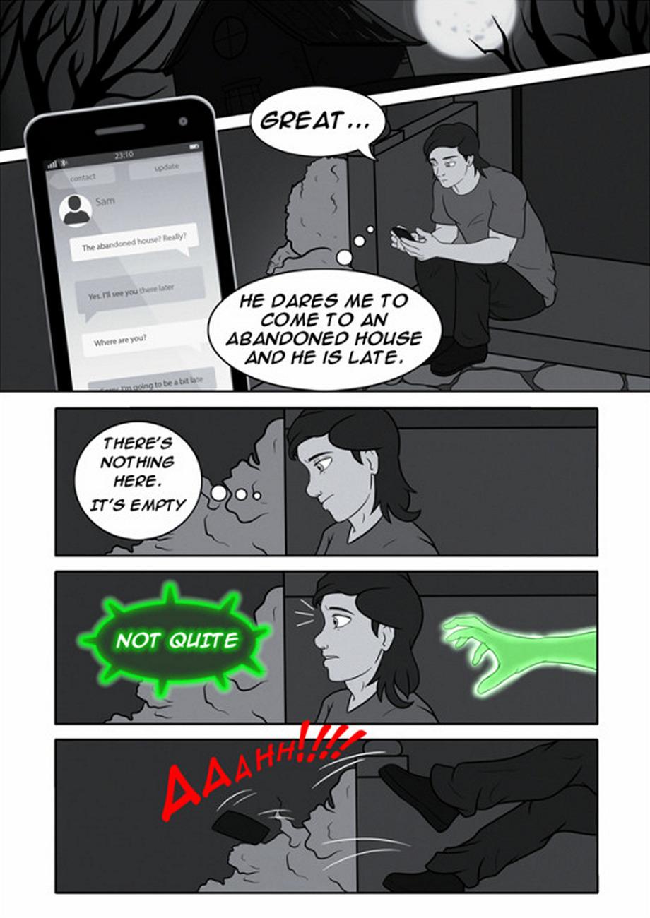 Red Box's Halloween gay furry comic