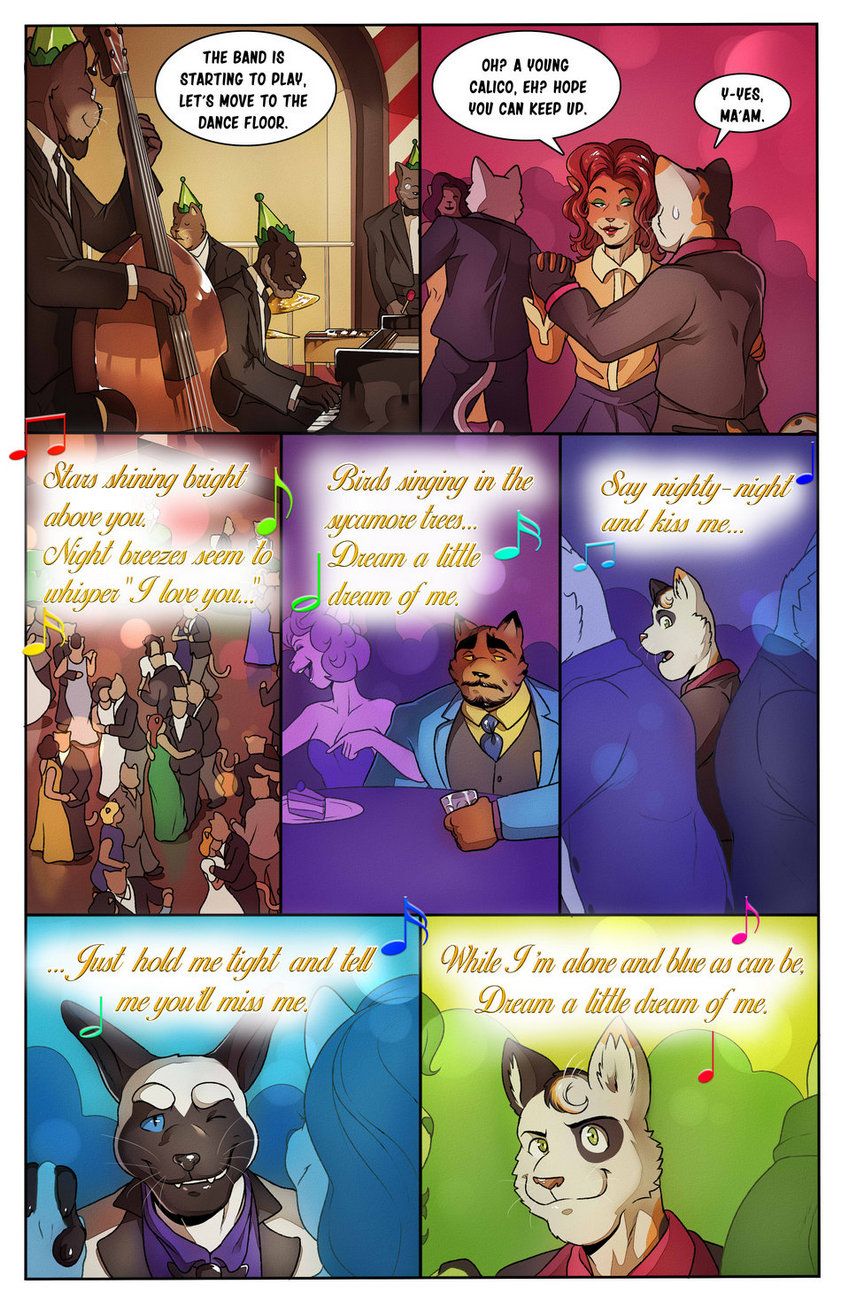 Relations – Love Me Or Leave Me gay furry comic