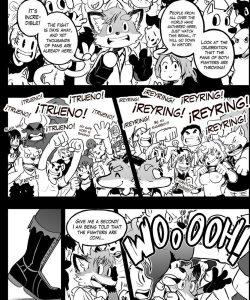 ReyRing 003 and Gay furries comics