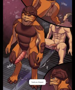 Rite Of Assage 028 and Gay furries comics
