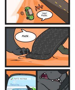 Roadkill 004 and Gay furries comics