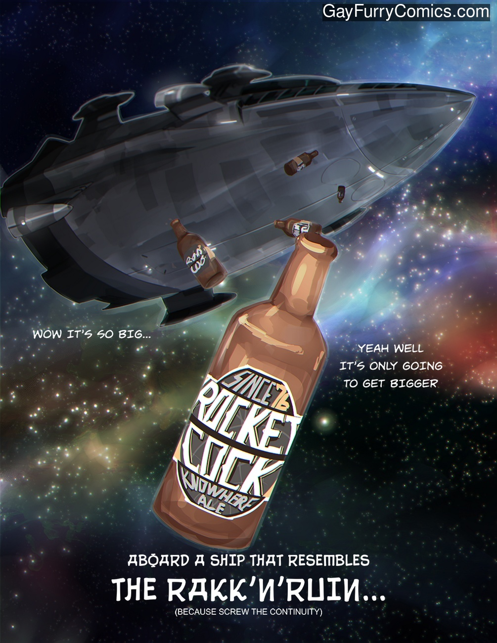 Rocket Cock gay furries