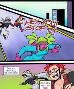 Rookie Heroes 002 and Gay furries comics