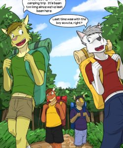 Roughin' It 003 and Gay furries comics
