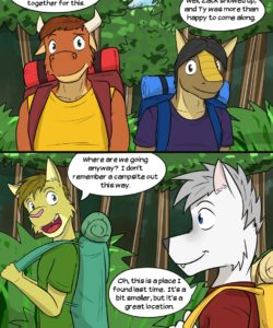 Roughin' It 004 and Gay furries comics