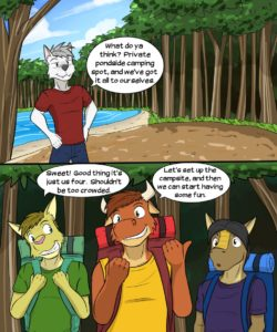 Roughin' It 005 and Gay furries comics