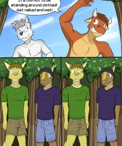 Roughin' It 008 and Gay furries comics