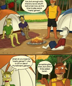 Roughin' It 013 and Gay furries comics