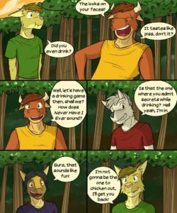 Roughin' It 016 and Gay furries comics