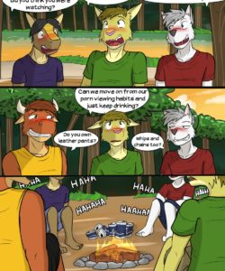 Roughin' It 021 and Gay furries comics