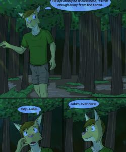 Roughin' It 025 and Gay furries comics