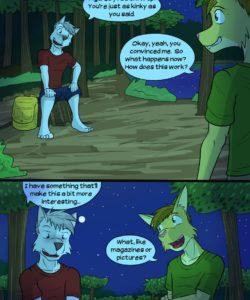 Roughin' It gay furry comic