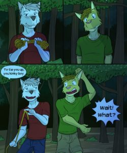 Roughin' It 027 and Gay furries comics
