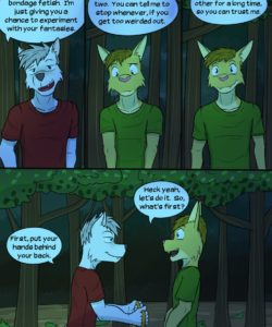 Roughin' It 028 and Gay furries comics