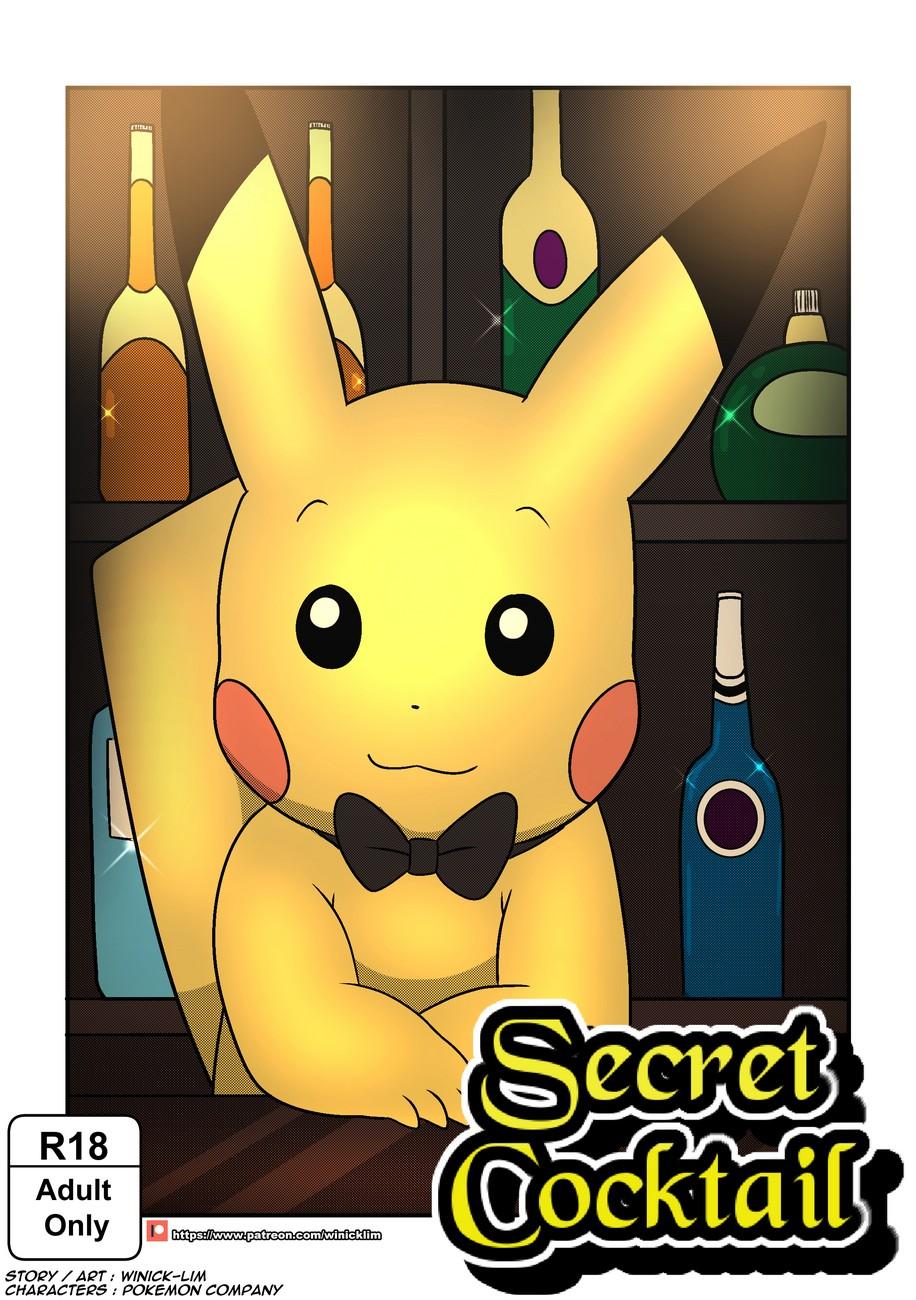 Secret Cocktail gay furry comic