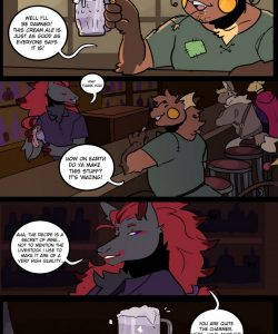 Secret Ingredient 001 and Gay furries comics