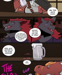 Secret Ingredient 006 and Gay furries comics