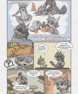 Sheath And Knife - A Beach Side Story 003 and Gay furries comics