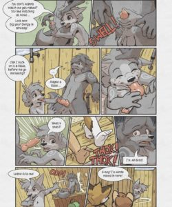 Sheath And Knife - A Beach Side Story 012 and Gay furries comics