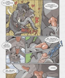 Sheath And Knife - A Beach Side Story 019 and Gay furries comics