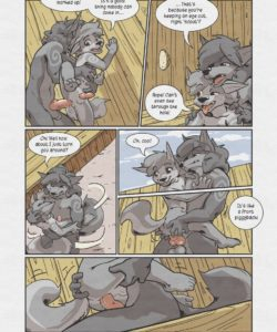 Sheath And Knife - A Beach Side Story 025 and Gay furries comics