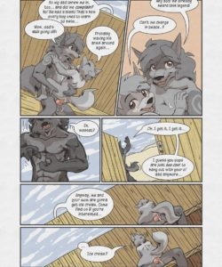 Sheath And Knife - A Beach Side Story 033 and Gay furries comics