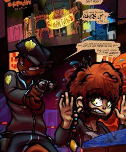 Simian Exposure 002 and Gay furries comics
