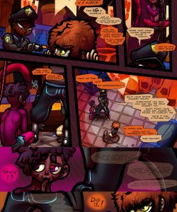 Simian Exposure 003 and Gay furries comics