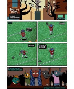 Smelting Hearts 001 and Gay furries comics