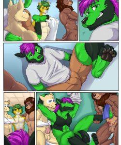 Soccer Slut 002 and Gay furries comics