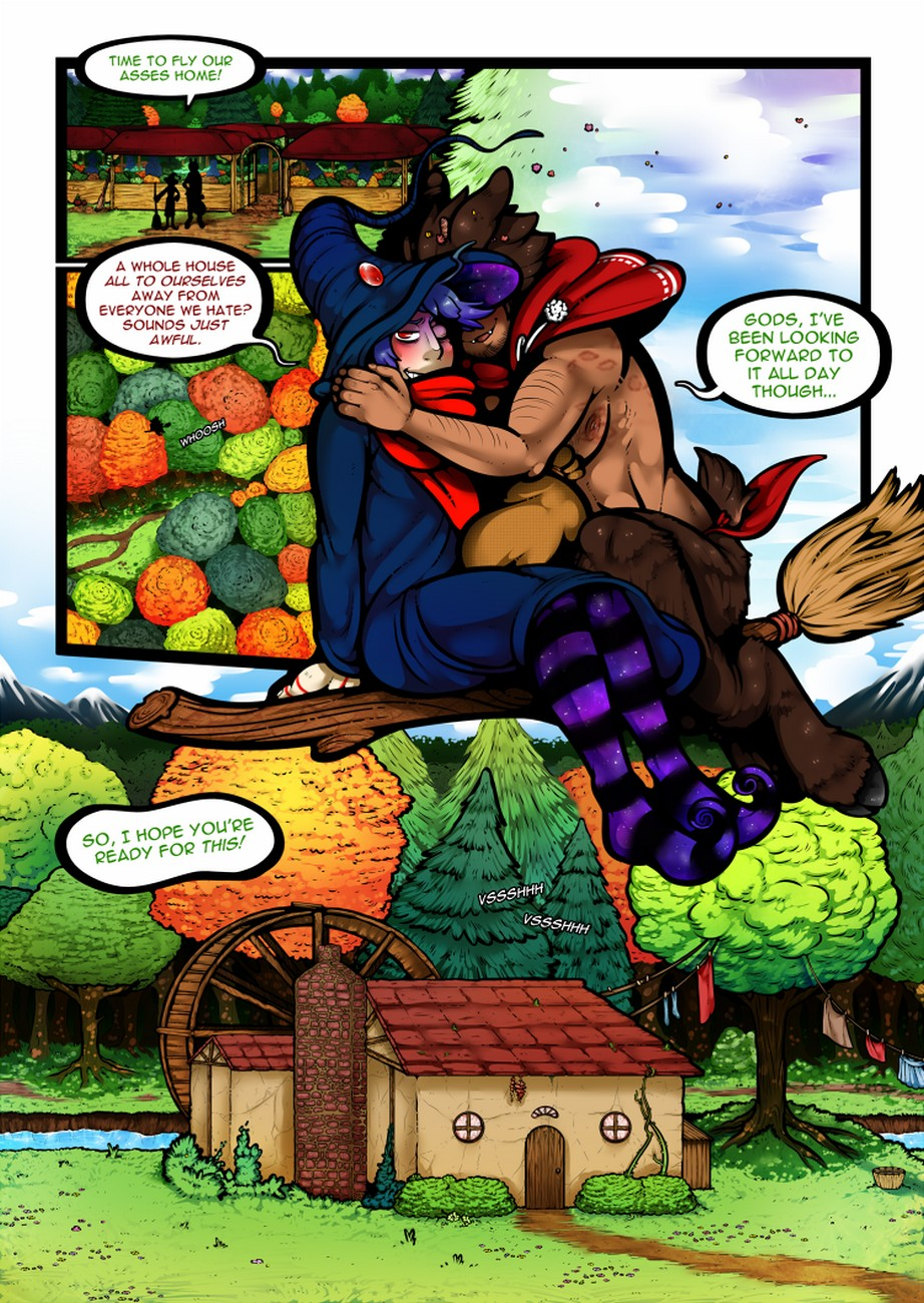 Solanaceae 1 gay furry comic