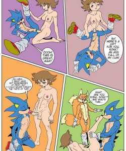 Sonic XXX 009 and Gay furries comics