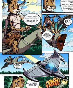 Space Man vs Savage Boy 002 and Gay furries comics