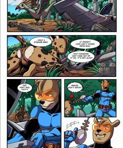 Space Man vs Savage Boy 003 and Gay furries comics