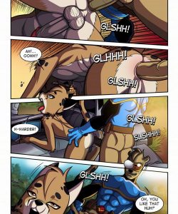 Space Man vs Savage Boy 007 and Gay furries comics