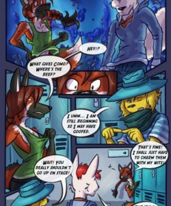 Spiritus Animus 003 and Gay furries comics