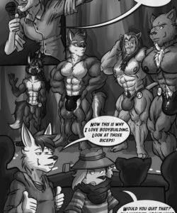 Spiritus Animus 004 and Gay furries comics