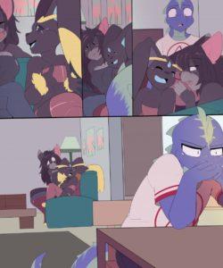 Spoilers gay furry comic