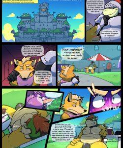 Starwash 010 and Gay furries comics