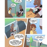 Sticks & Stones gay furry comic
