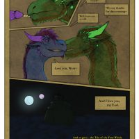 Storm Of The Century 1 - Meeting Of The Four Winds gay furry comic